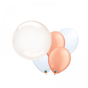 Balloon Combo Clearz Balloon Bouquet - Balloon Delivery Melbourne