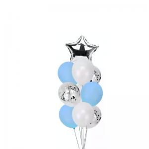 Star Confetti & Foil Balloon Bouquet Melbourne Delivery