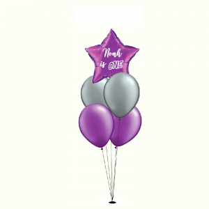 Mixed Balloon - Personalised Balloon Bouquet