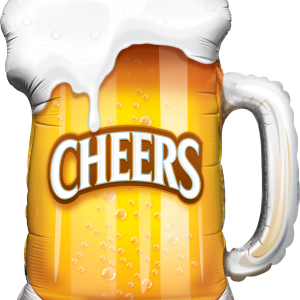 Beer Cheers Balloon Bouquet - Birthday Balloon Bouquet Melbourne Delivery