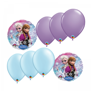 Frozen Foil Balloon Bouquet Melbourne Delivery - Birthday Balloons Delivery Melbourne