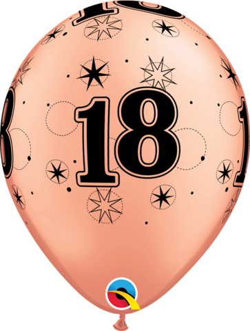 18th Birthday Sparkle Balloon Bouquet delivery Melbourne